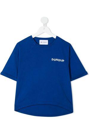 Dondup T-shirt med logotryk