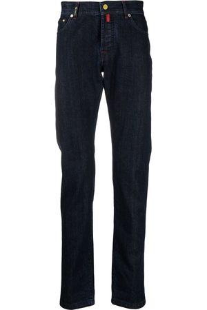 Kiton Jeans med mellemhøj talje og smal pasform
