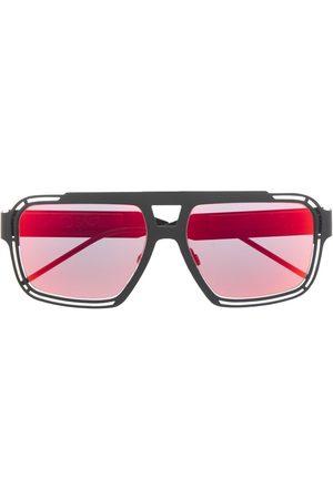 Dolce & Gabbana Navigator-solbriller med DG-logo