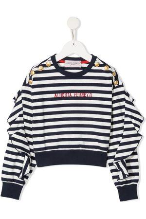 Alberta Ferretti Sweatshirt med logotryk