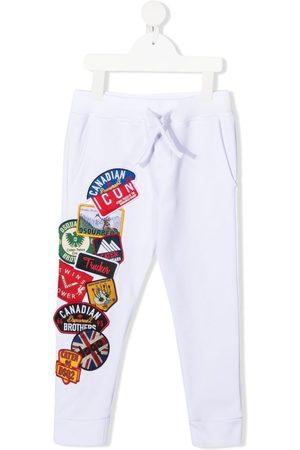 Dsquared2 Joggingbukser med flere logomærker