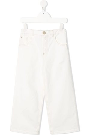 Elisabetta Franchi La Mia Bambina Højtaljede jeans med lige ben