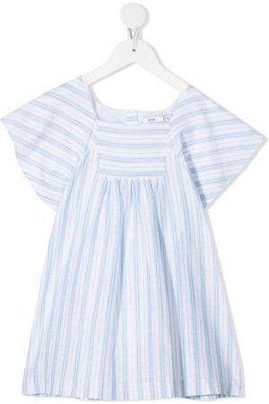 KNOT Stribet Isabel smock-kjole