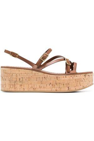 Tod's Sandaler med remdetalje og plateausål