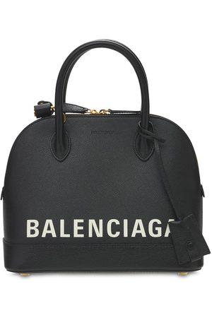 Balenciaga Small Ville Leather Top Handle Bag