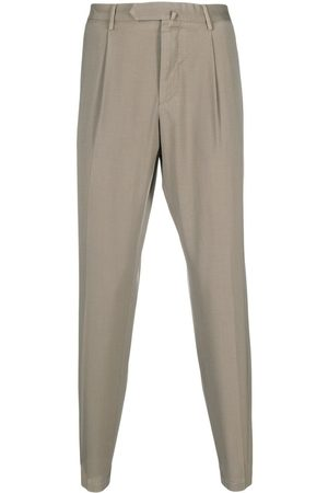 DELL'OGLIO Mænd Chinos - Concealed-front trousers