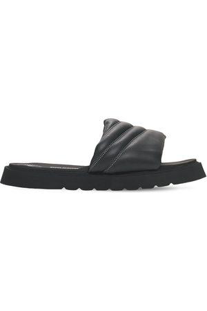 BRUNO BORDESE Mænd Sandaler - Leather Slide Sandals