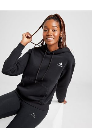 Converse Kvinder Sweatshirts - Chevron Overhead Hoodie Dame