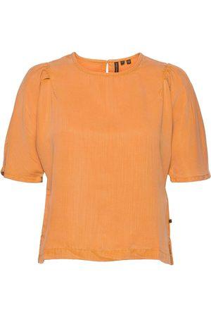 Superdry Kvinder Kortærmede - Woven Tshirt Blouses Short-sleeved