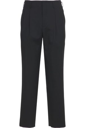 Comme des Garçons Mænd Bukser - Pleated Wool Pants