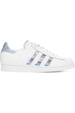adidas Kvinder Sneakers - Superstar Transparent Leather Sneakers