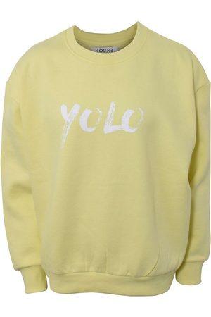 Hound Sweatshirts - X Ella Augusta Sweatshirt - Lemon Yellow