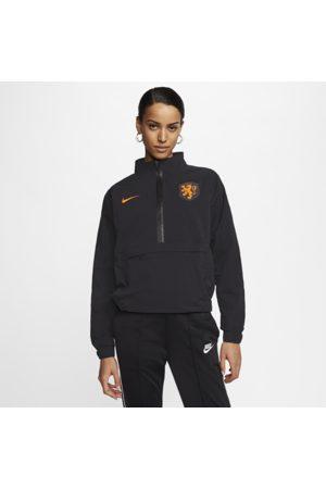 Nike Holland-fodboldtop med lynlås i kvart længde til kvinder