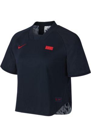 Nike Vendbar FFF-fodboldtrøje med korte ærmer til kvinder