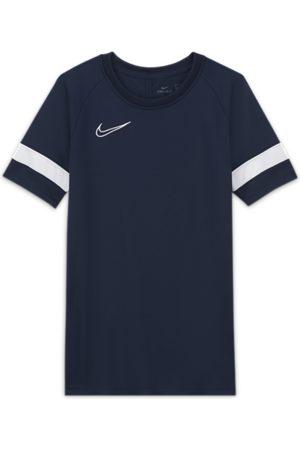 Nike T-shirts - Dri-FIT Academy-kortærmet fodboldtrøje til store børn