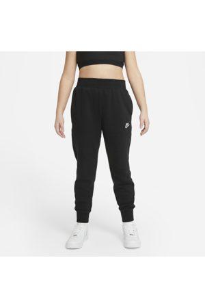 Nike Sportswear Club Fleece-bukser (udvidet størrelse) til større børn (piger)