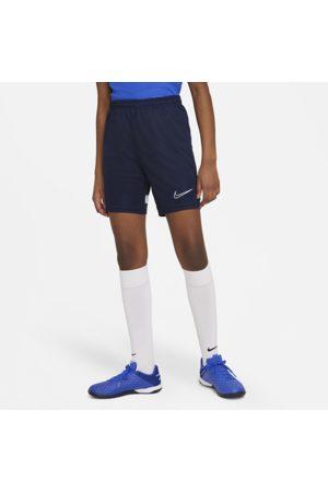 Nike Maskinstrikkede Dri-FIT Academy-fodboldshorts til store børn