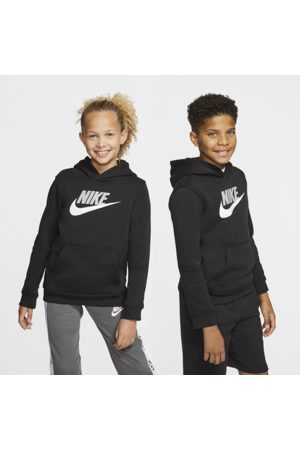Nike Sportswear Club Fleece-pullover-hættetrøje til store børn (drenge)