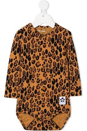 Mini Rodini Baby Bodies - Body med leopardtryk