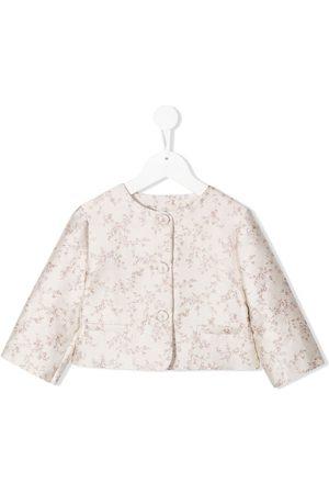 LA STUPENDERIA Piger Blazere - Luce jakke i blomstret jacquard