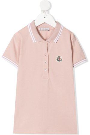 Moncler Piger Poloer - Polo med logomærke