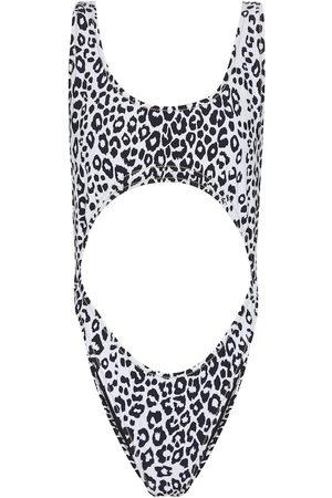 Reina Olga Kvinder Badedragter - Exclusive to Mytheresa – Marina leopard-print swimsuit
