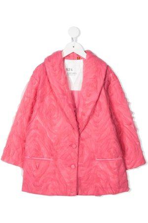 CAROLINE BOSMANS Piger Blazere - Enkeltradet jakke med tyl