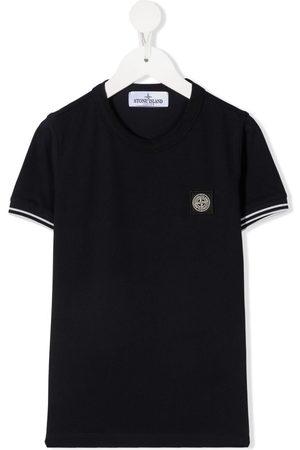 Stone Island Drenge Kortærmede - Logo patch T-shirt