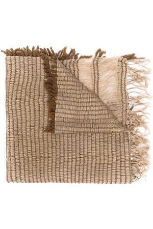 Issey Miyake Tørklæder - 00'er vævet tørklæde med frynser