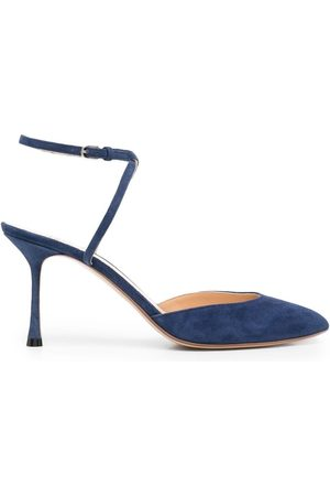 Francesco Russo 75mm pumps med spids snude