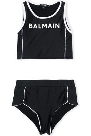 Balmain Træningsdragt med shorts logotryk