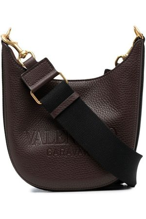 VALENTINO GARAVANI Logo-debossed shoulder bag
