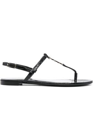 Saint Laurent Kvinder Sandaler - Cassandra sandaler med åben tå