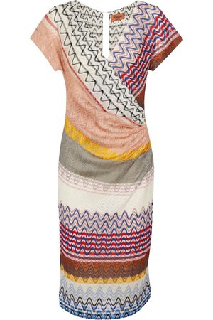 Missoni Zig-zag knit midi dress