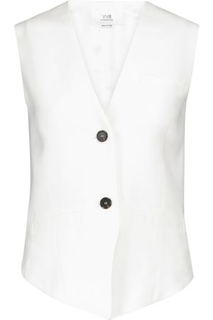 Victoria Victoria Beckham Basket-weave vest