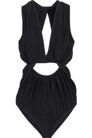 Rick Owens Kvinder Bodies - Cutout mesh and stretch-jersey bodysuit