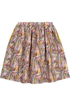 PAADE Kvinder Mønstrede nederdele - Printed cotton skirt