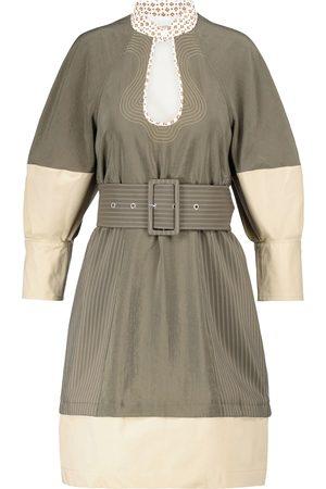 Chloé Kvinder Festkjoler - Belted silk-blend poplin minidress