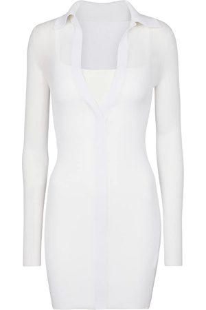 Peter Do Kvinder Strikkede kjoler - Knit midi dress