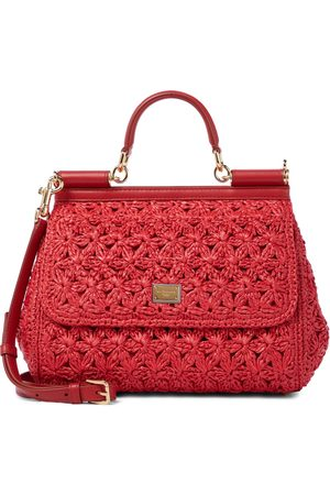 Dolce & Gabbana Sicily Medium crochet shoulder bag