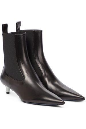 Jil Sander Kvinder Ankelstøvler - Leather Chelsea boots