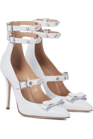 Alessandra Rich Kvinder Pumps - Embellished leather pumps