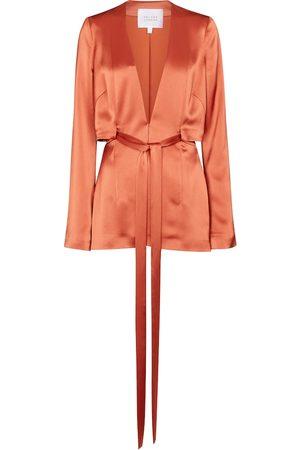 GALVAN Kvinder Blazere - Slashed satin jacket