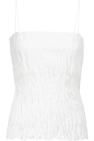 Totême Kvinder Natkjoler - Crinkled silk camisole