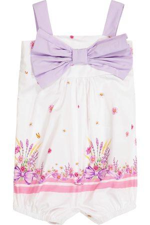 MONNALISA Bodies - Baby printed cotton bodysuit