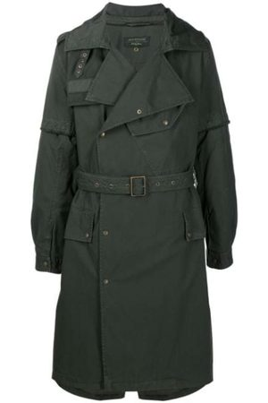 Mr&Mrs Italy NICK WOOSTER CAPSULE TRENCH WITH LAMB FUR
