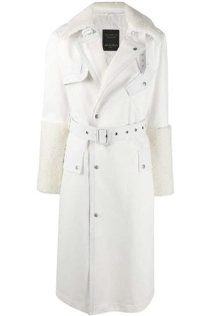 Mr & Mrs Italy SHEARLING AND LEATHER TRENCH