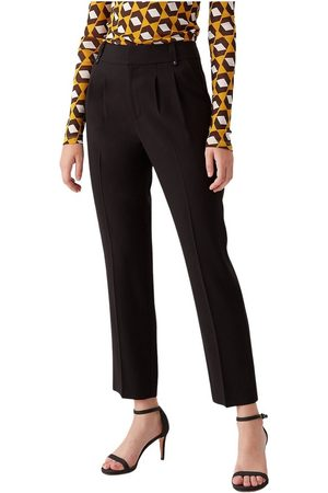Diane von Furstenberg Frederica Twill-Blend Tailored Pants