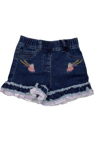 MONNALISA Piger Shorts - SHORTS JEANS FIORI
