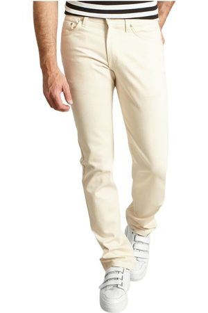 Naked & Famous Denim Weirdguy Natural Seed Jeans